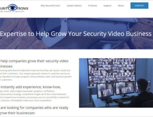 SecurityTronix Launches New Website and E-Catalog